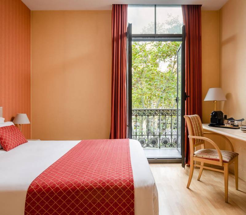Gran-via room sunotel central  barcelona