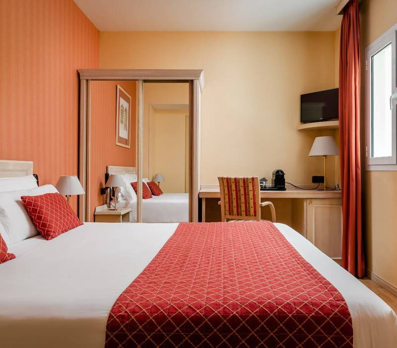 Economy room sunotel central  barcelona